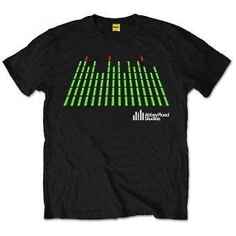 Abbey Road Studios EQ Logo Heren Zwart T Shirt: X Large