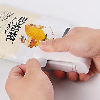 Mini máquina de sellado doméstica para el sellador de calor de la bolsa de almacenamiento de paquetes de plástico