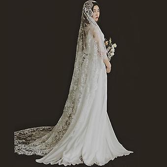 Lace Edge Wedding Veil