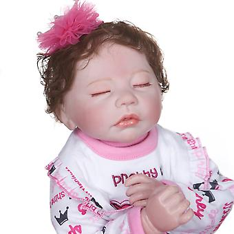 45Cm bebe lány baba újjászületett puha test cuddly premie méret élethű valódi touch kéz részletes pásting gyűjthető