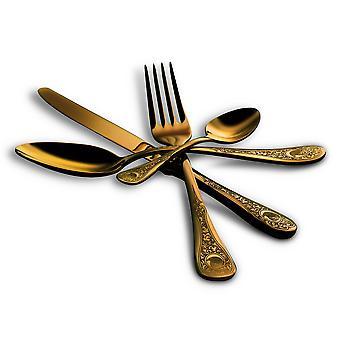 Mepra Diana Oro 4 pcs flatware set