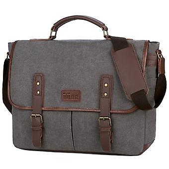Vintage Business Männer Aktentaschen Canvas Taschen Tragbare Messenger Bag