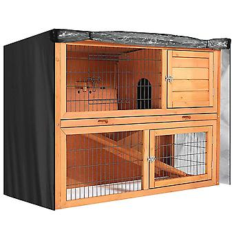 Kanin Bunny Ferret Kylling Coop Pet Hutch Cage House Cover