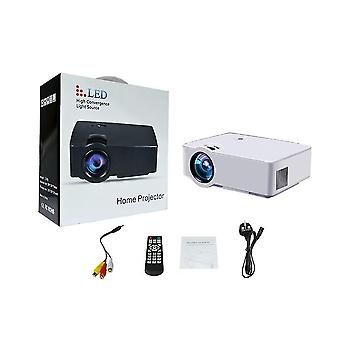 E08 LCD/led bærbar projektor-hdmi Home Media Player