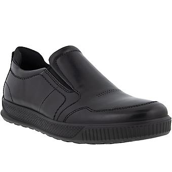 ECCO Mens Byway Leather Lightweight Slip On Casual Scarpe