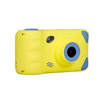 Söpö lasten kamera 3mp lapsikamera 4.39 in (keltainen)