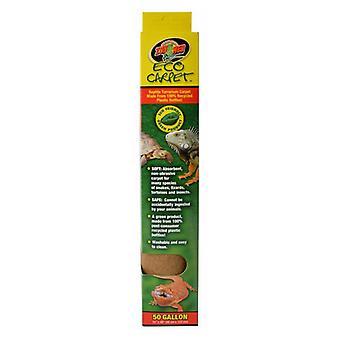 """Zoo Med Eco szőnyeg hüllő szőnyeg - Tan - 50 Gallon (15"""" x 48"""")"""