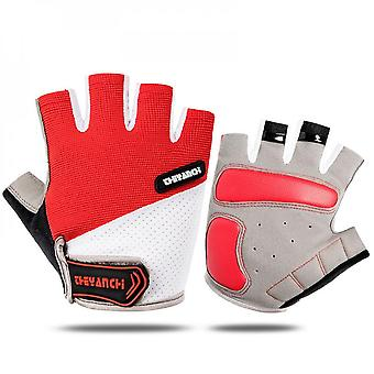 Men's And Women's Fitness And Weightlifting Gloves Are Padded, Lightweight And Non-slip, Suitable For Cycling, Rock Climbing, Boating, Dumbbells, Cros