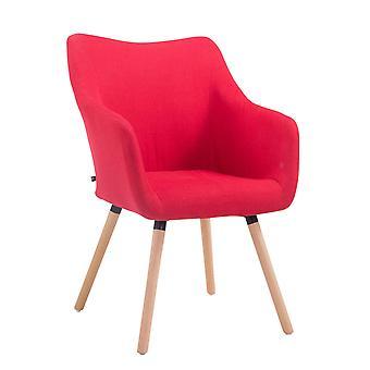 Esszimmerstuhl - Esszimmerstühle - Küchenstuhl - Esszimmerstuhl - Modern - Rot - Holz - 61 cm x 62,5 cm x 90 cm
