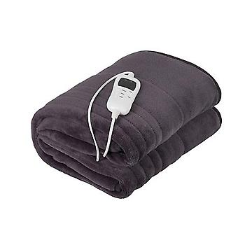 Camry Electric Blanket CR 7418 Number of heat levels 7, Number of persons 1, Washable, Coral fleece, 110-120 W, Brown