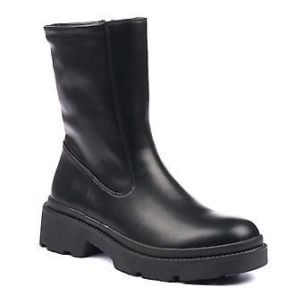 Lunar Richmond Black Mid Calf Boot