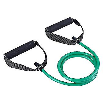 Exercise bands premium fitness elastic bands for home or office workouts green