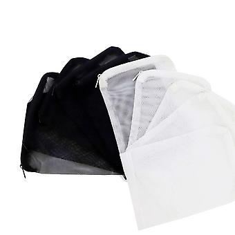 10 csomag akvárium szűrő média táskák pelletált szén