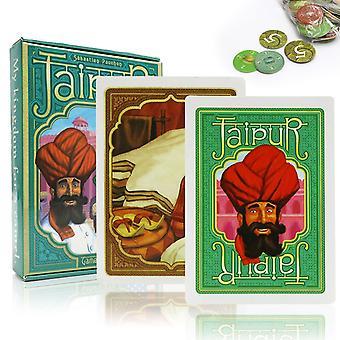 2021 Jaipur Kortti pelit Englanti & Espanjan säännöt 2 pelaajat pöytäpeli pari perhe juhla lauta peli pelit kortit lahjat