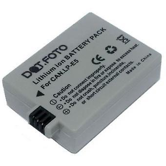 Dot.Foto Canon LP-E5 batería de repuesto - 7.4v / 1050mAh