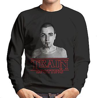 Trainspotting T2 mærkeligere ting Eleven Renton mænds Sweatshirt