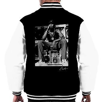 LL Cool J wykonywania 1980 roku mężczyzn uniwerek kurtka
