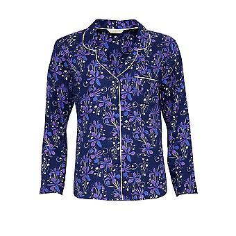 Cyberjammies 3567 Sadie blau Floral Pyjama Top
