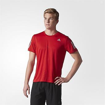 アディダス レスポンス BP7433 実行してすべての年の男性 t シャツ