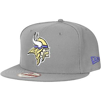 New Era 9Fifty Snapback Cap - Minnesota Vikings storm grau