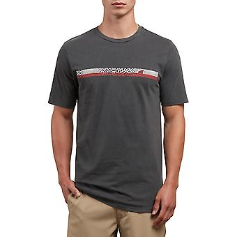 Volcom System Manic Short Sleeve T-Shirt in nero