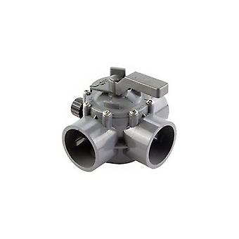 """Jandy Зодиак 2875 2 'квота; - 2,5 """"квота; Позитивная печать valve 3 Порт - Серый"""
