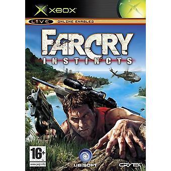 Far Cry instincten (Xbox)-nieuw