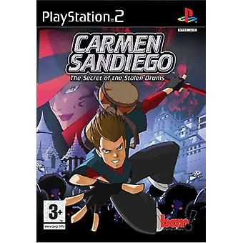 Carmen Sandiego The Secret of the Stolen Drums (PS2) - New Factory Sealed