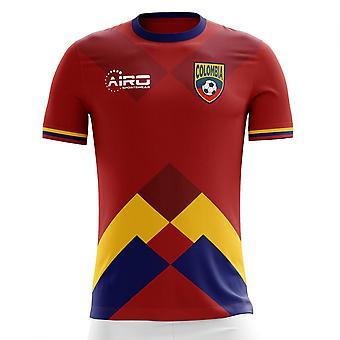 2020-2021 Columbia Away Concept Fotbal Shirt (Copii)