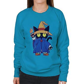 Final Fantasy Vivi kat Mage vrouwen Sweatshirt