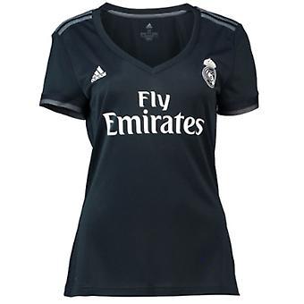 2018-2019 ريال مدريد أديداس المرأة قميص بعيداً
