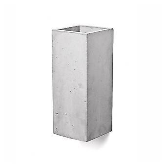 Concrete lamp muur lamp Guro licht grijs H: 25 cm 10636