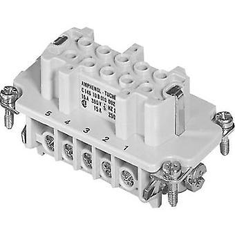 Amphénol C146 10B010 002 1-1 Socket Insert Amphénol C146 10B010 002 1 C146 10B010 002 1 Connecteurs lourdsIndustrial connectsRectangle plugs Charge