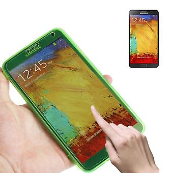 Mobile Shell flip cross for mobile Samsung Galaxy touch 3 light green