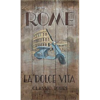 Rooman retket Juliste Tulosta Arnie FISK