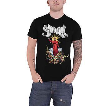Ghost T Shirt Plague Bringer band Logo new Official Mens Black