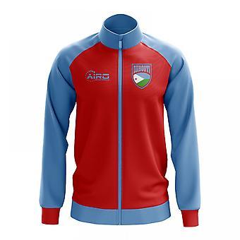 Djbouti käsite jalkapallo Track Jacket (punainen)