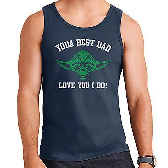 Far Yoda bedste kærlighed du jeg Star Wars mænds Vest
