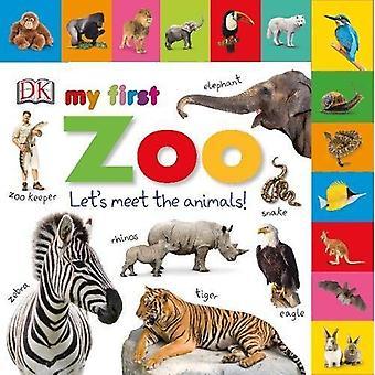 Tabbed styrelsen böcker min första Zoo