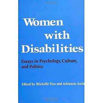Kvinnor med funktionshinder: uppsatser i psykologi, kultur och politik