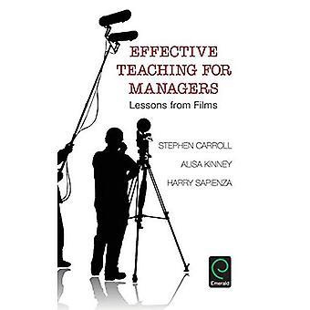Effektiv undervisning för chefer: lärdomar från filmer
