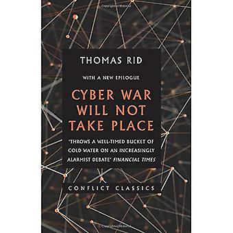 Cyber krig kommer inte äga rum