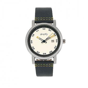 Simplify The 5300 Strap Watch - Silver