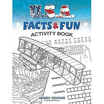 U.S.A. fakta & kul aktivitetsbok