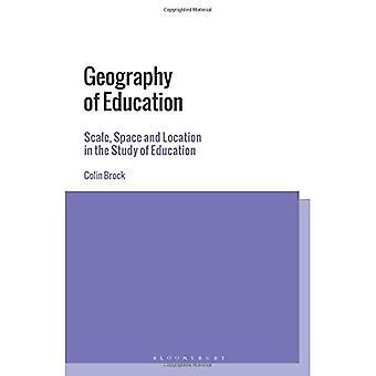 Geografi utdanning: skala, plass og plassering i studiet av utdanning