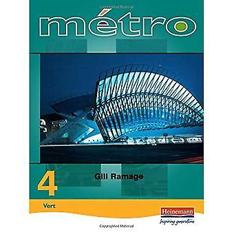 Metro 4: Stichting: Student boek (Metro)