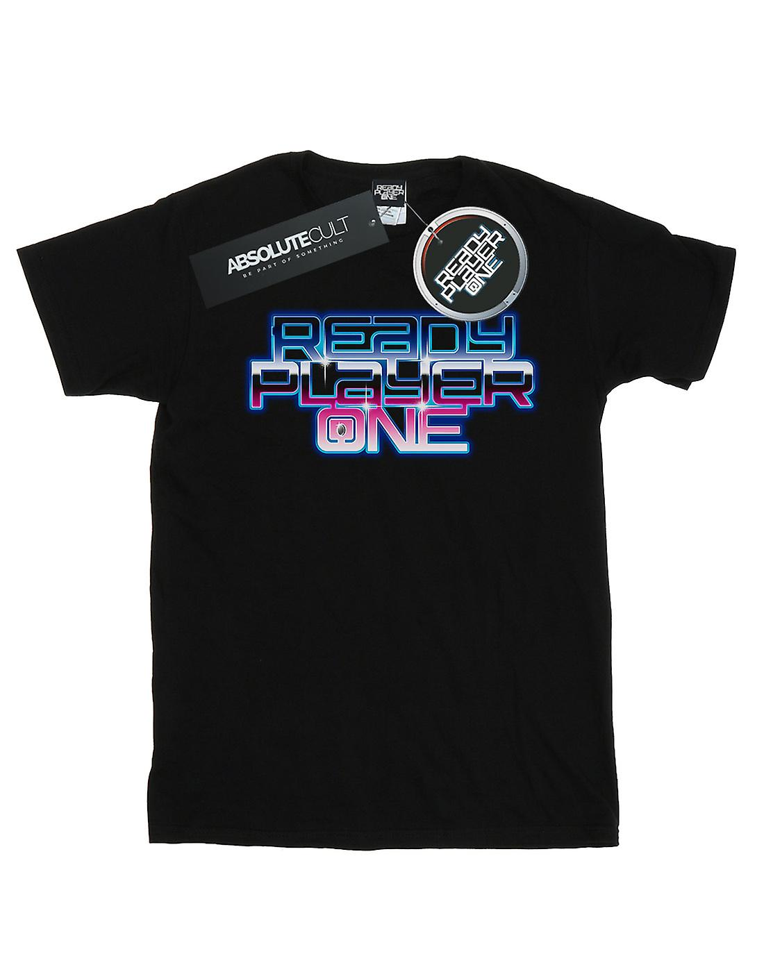 Ready Player One Girls Gradient Logo T-Shirt