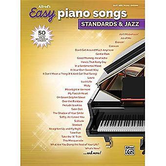 Alfreds einfache Klavierlieder--Standards & Jazz: 50 Klassiker aus dem Great American Songbook (Alfred ist einfach)