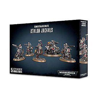 Warhammer 40000 Genestealers kulter Atalan schakaler (5 siffror)
