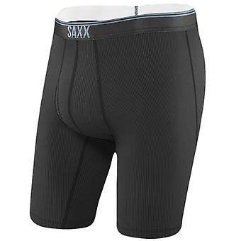 Saxx undertøy Co Quest Fly lang etappe Boxer kort - svart